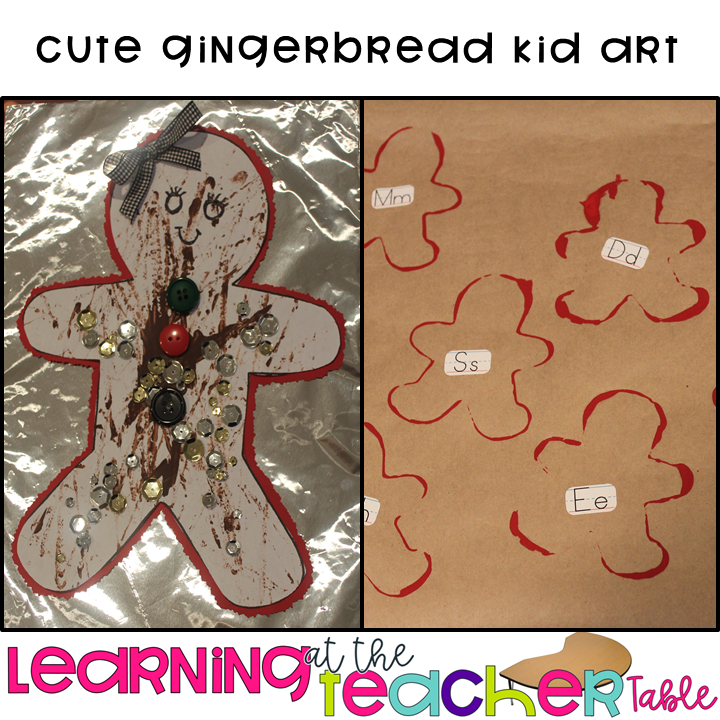 gingerbread art for your lesson plans