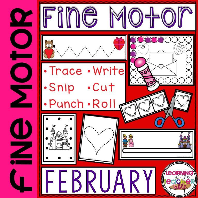 February Fine Motor
