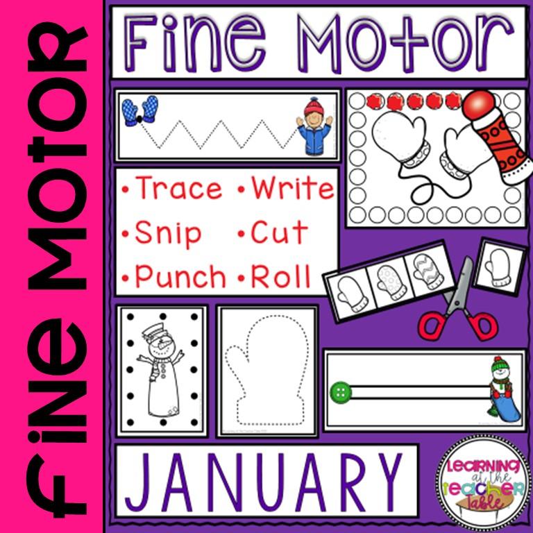 January Fine Motor