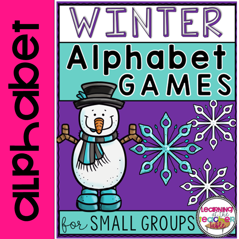 Alphabet Games for Winter