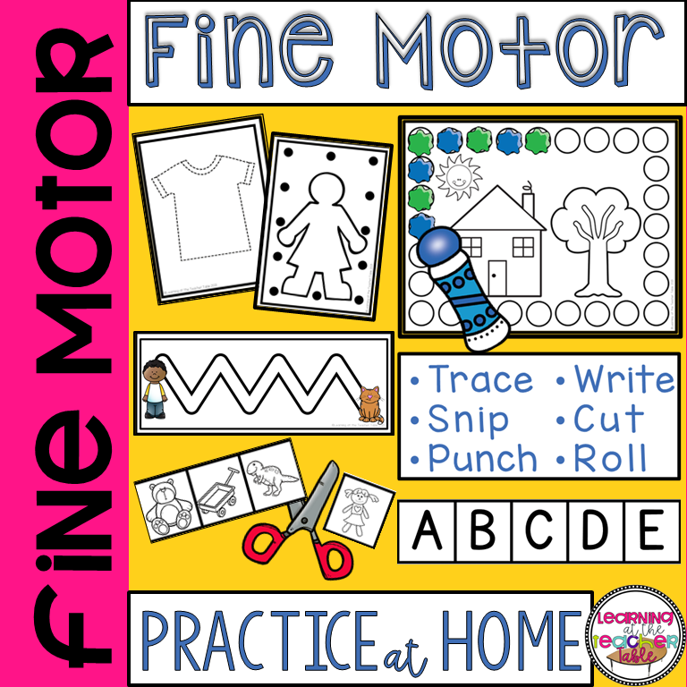 Fine Motor for Home cover