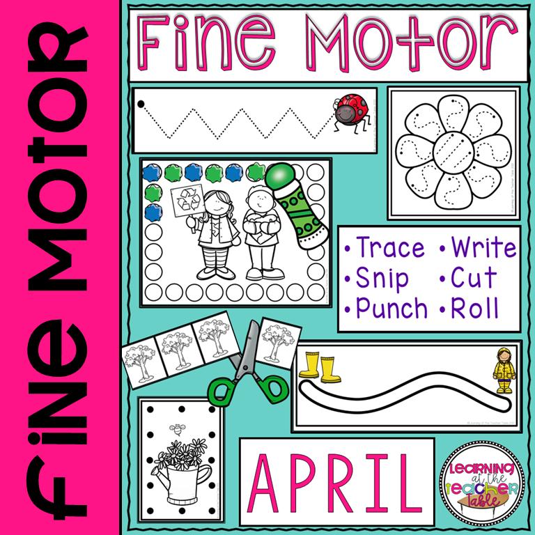 April fine motor cover