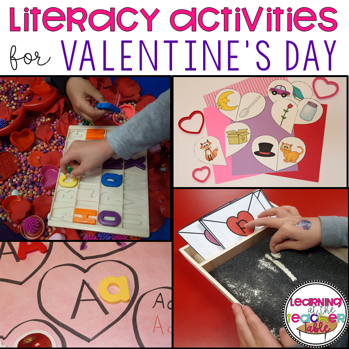 prek valentine activities