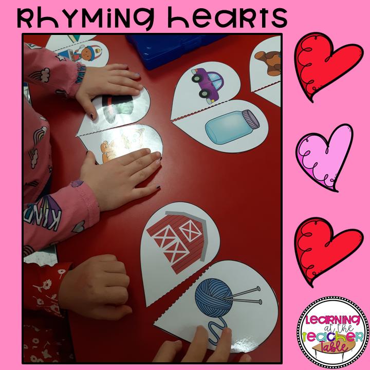 rhyming activity for preschoolers
