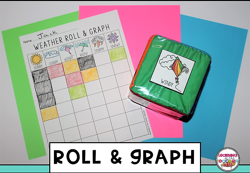 weather roll and graph activity