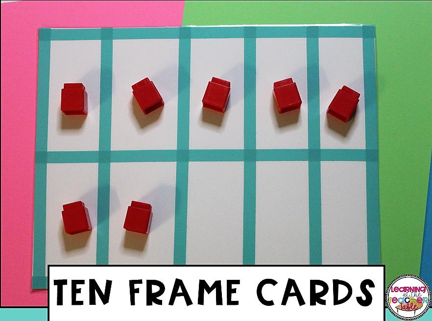 DIY ten frames using craft tape