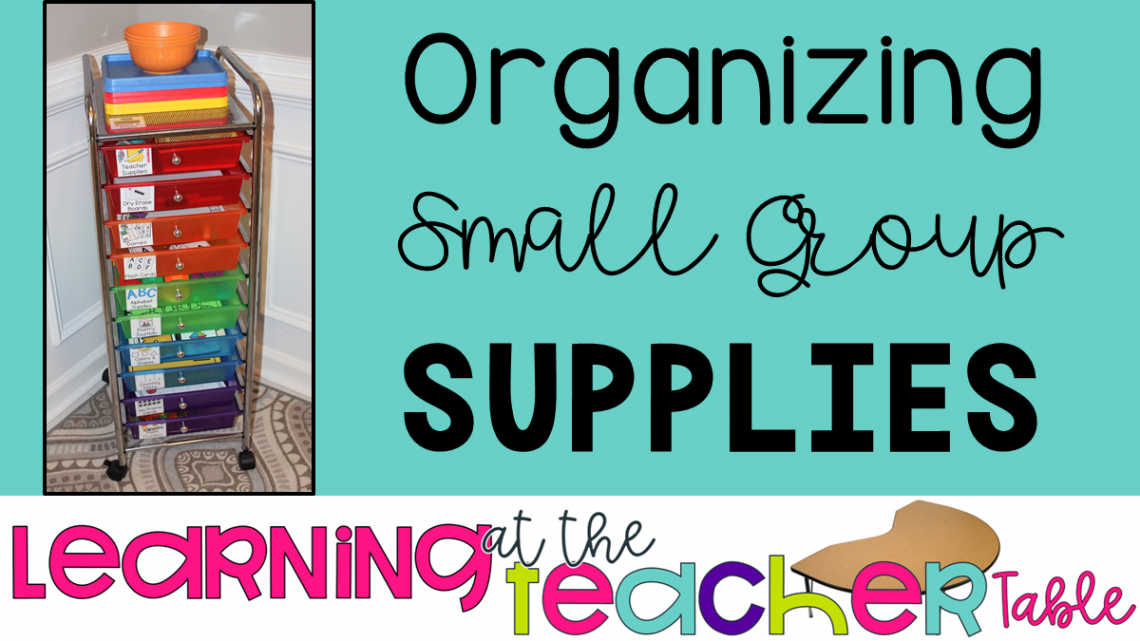 organizing small groups