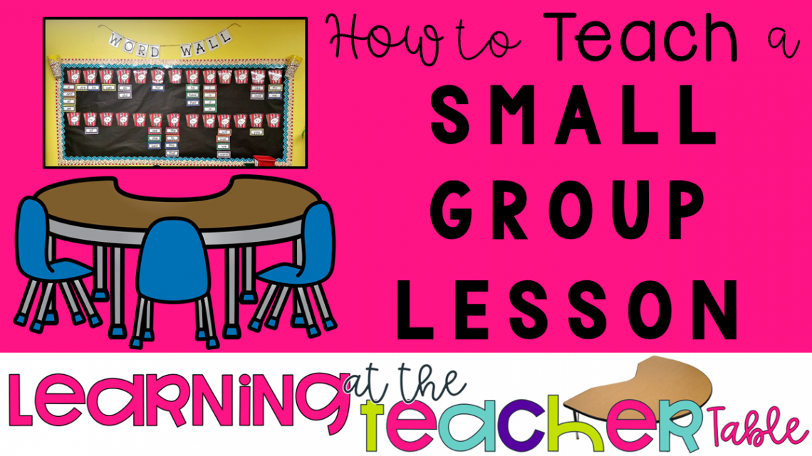 Small group lesson title